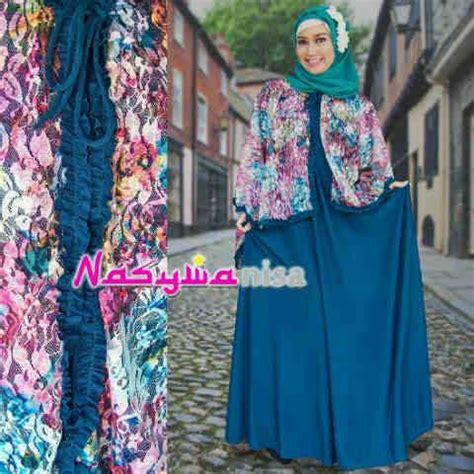 Dress Alfira alfira by nasywannisa tosca baju muslim gamis modern