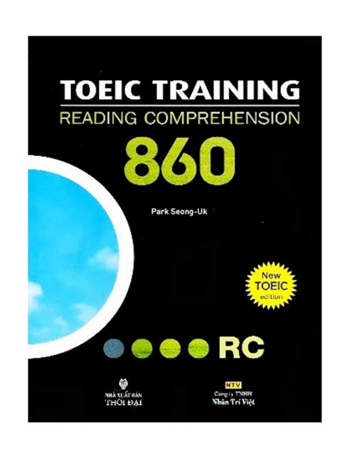 reading training the toeic training reading comprehension 860 tincanban com