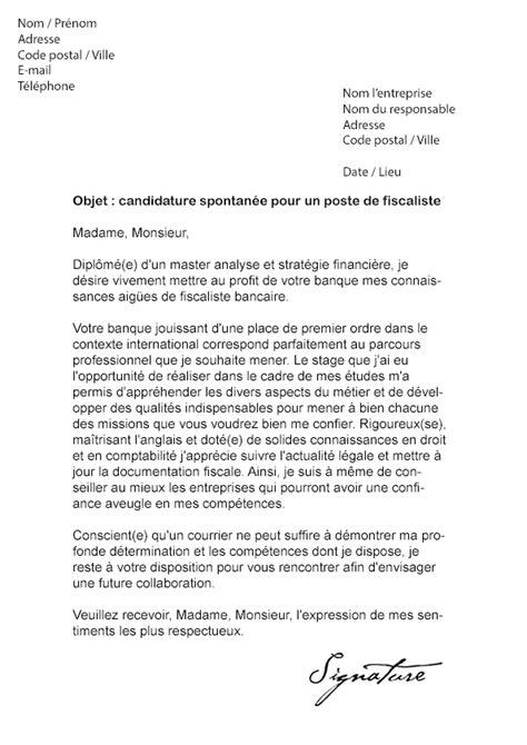 Exemple Lettre De Recommandation Bancaire Lettre De Motivation Fiscaliste Bancaire Mod 232 Le De Lettre