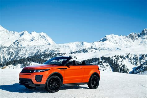 land rover convertible blue 2017 range rover evoque convertible review