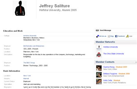 Sample Of Simple Resume by Top 10 Social Sites For Finding A Job