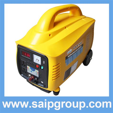 500w solar power generator system for portable home use