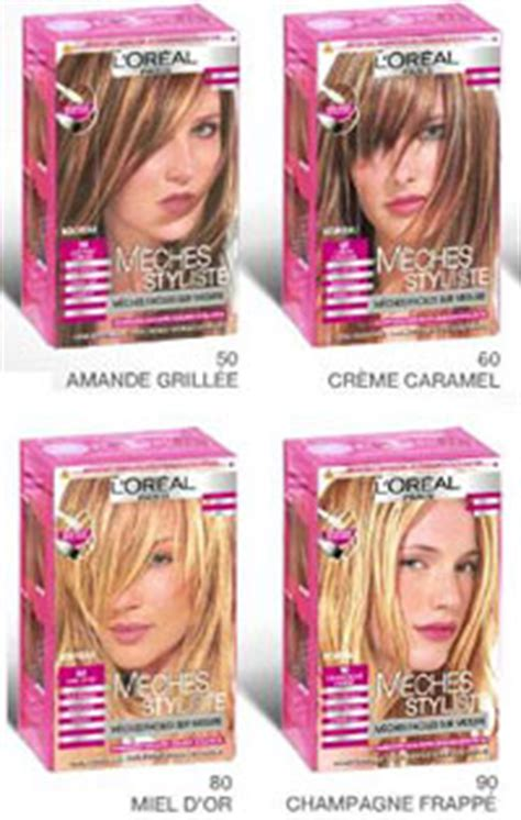 coloration meche cheveux l oreal m 232 ches styliste l or 233 al coloration beaut 233 test