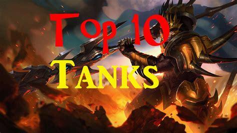 best tank lol top 10 tanks league of legends youtube