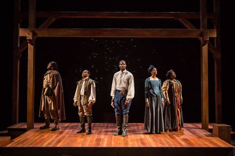 An American Play Theater Review A Timid Play About Courageous Actors Apt S Company Treads Lightly