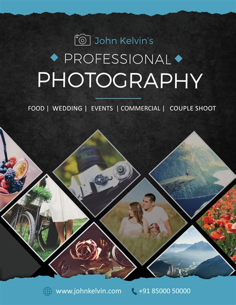 Flyers For Photography Business Phototwhoa Photography Template