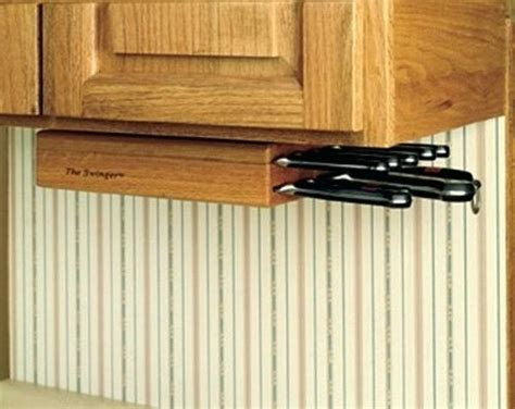 under cabinet knife block plans under cabinet knife rack these hinges are perfect for use