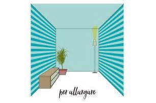 Pitturare Una Stanza Due Colori by Allungare E Allargare Una Stanza Piccola Con Il Colore