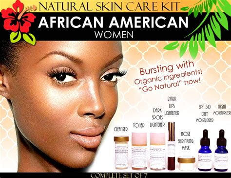 Good Hair Bkeaching Kits For African American   natural skin care kit for african american black women