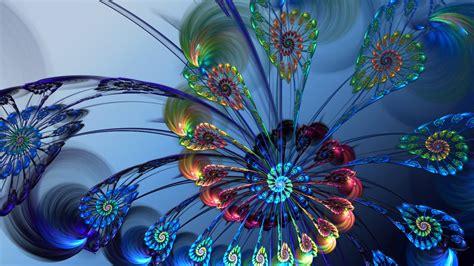 imagenes abstractas para fondo de pantalla flor abstracta 3d 1920x1080 fondos de pantalla y