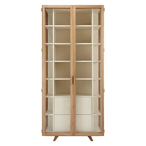 vitrina tall cabinet by hierve case furniture buy case vitrina tall cabinet john lewis