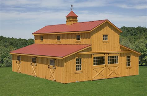 barn design horse barns