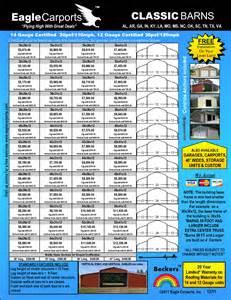 gambrel barn prices