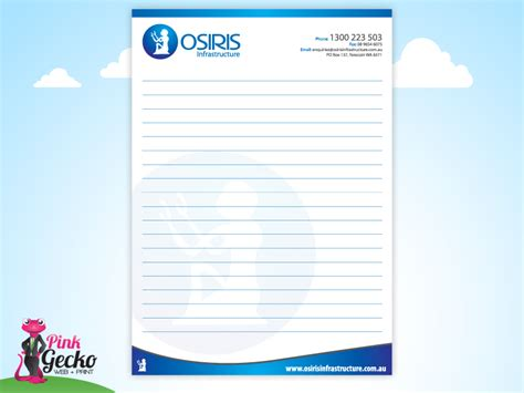 notepad design template writing pad design template www pixshark images
