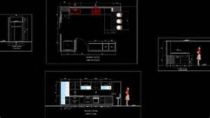autocad kitchen cabinet blocks rooms
