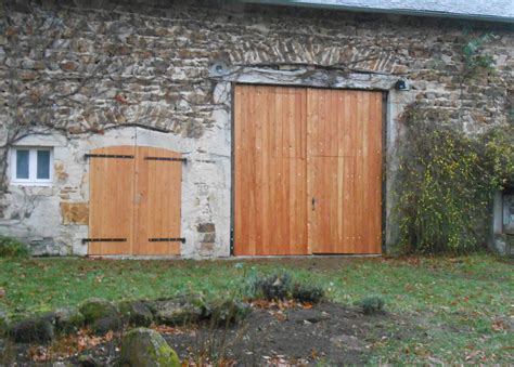 Porte De Grange En Bois by Portes En Bois Sur Mesure Menuiserie Drifford