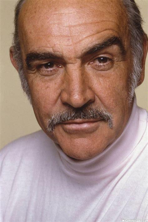 Sean Connery Mustache Meme - sean my man again love the gray hair sooooo sexy chv