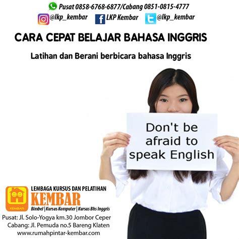 tutorial bahasa inggris cara cepat belajar bahasa inggris cara cepat belajar