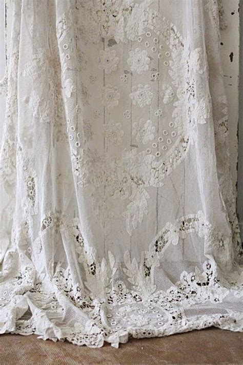 White Lace Curtains 25 Best Ideas About White Lace Curtains On Pinterest Lace Curtains Vintage Curtains And