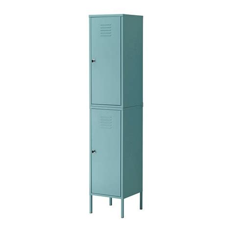 ikea storage locker ikea ps cabinet tall locker turquoise green blue metal locking