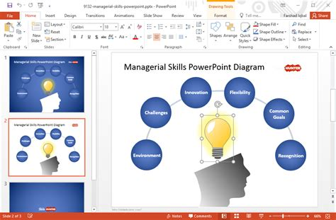 free managerial skills template for powerpoint