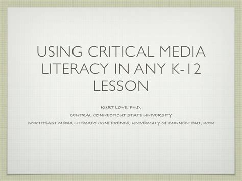 critical media literacy pearltrees critical media literacy in k 12 lessons