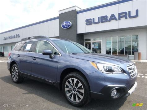 blue subaru outback 2017 twilight blue metallic subaru outback 2 5i limited