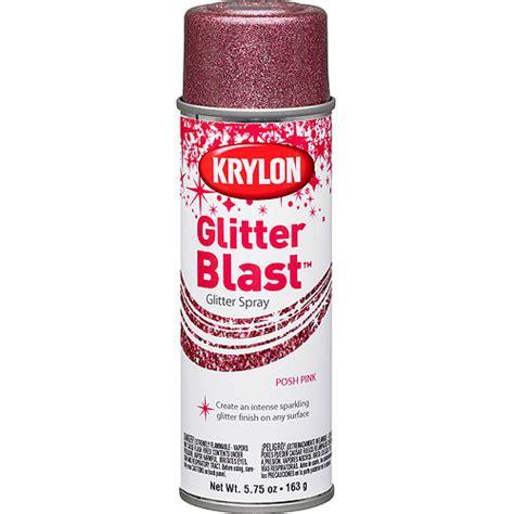 krylon glitter blast posh pink walmart