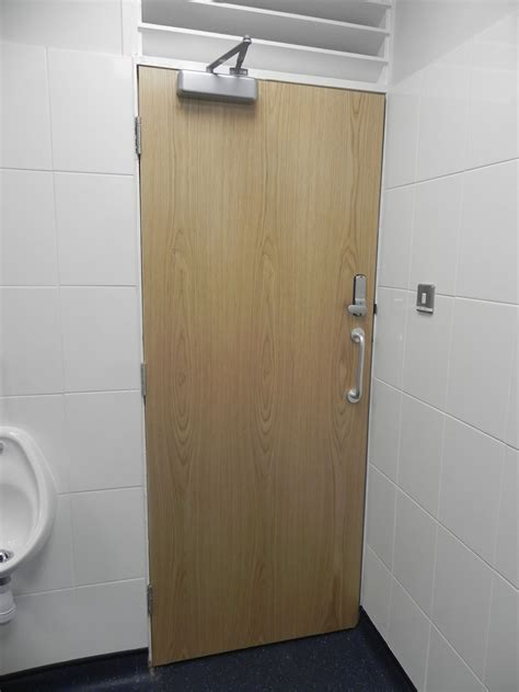 toilet entrance doors commercial refurbishment