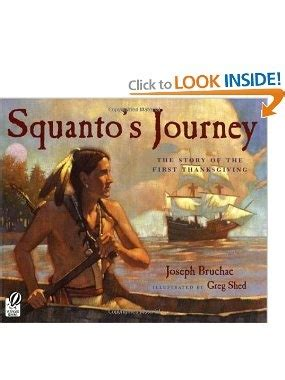 s story a s journey to herself books squantos journey the story of the thanksgiving