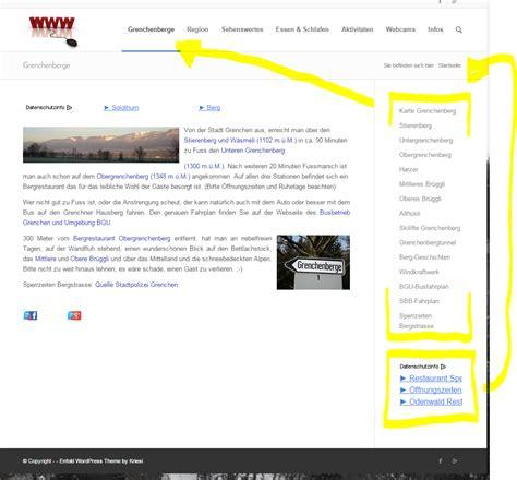 Enfold Theme Widgets | enfold standard sidebar widget support kriesi at