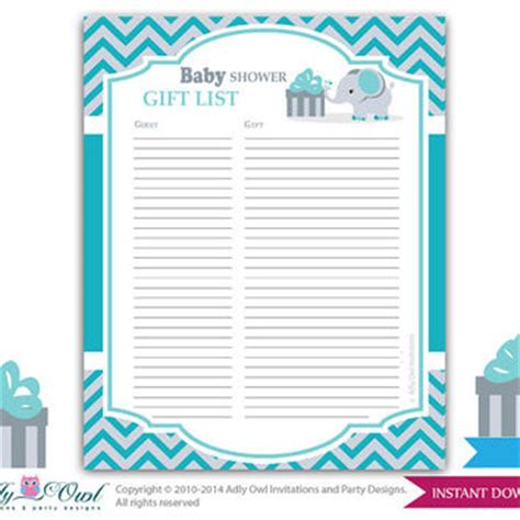 Printable Baby Shower Guest Sign In Sheet by Best Baby Shower Guest Gifts Products On Wanelo