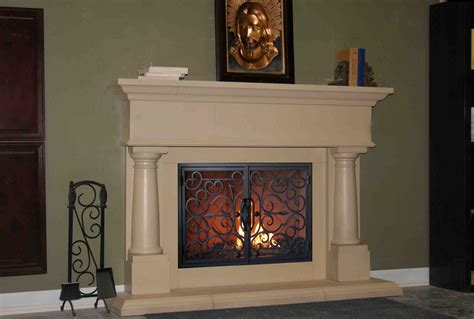 Fireplace Fronts Home Depot by Mt224 Fireplace Mantels Fireplace Surrounds Iron