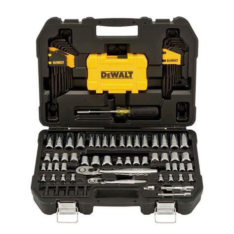 tool set dewalt mechanics tool set 108 dwmt73801 the home