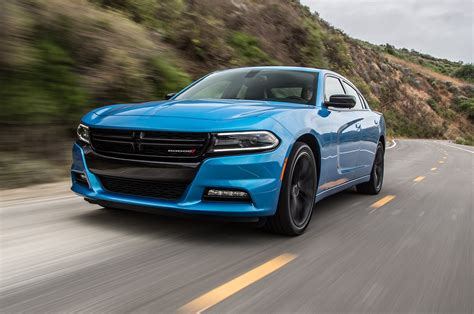 dodge charger 2016 dodge charger sxt blacktop test a more edgy