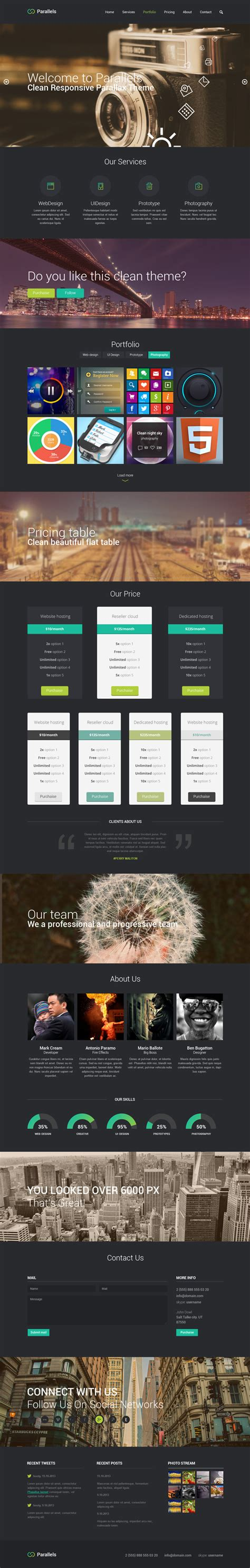 Psd Templates 20 One Page Free Web Templates Freebies Graphic Design Junction Psd Website Templates Free 2017