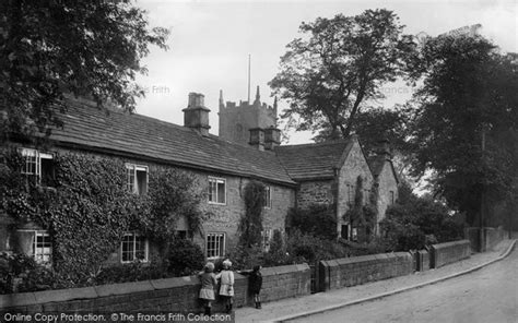 Eyam Plague Cottages by Historical Nostalgic Pictures Of Eyam In Derbyshire