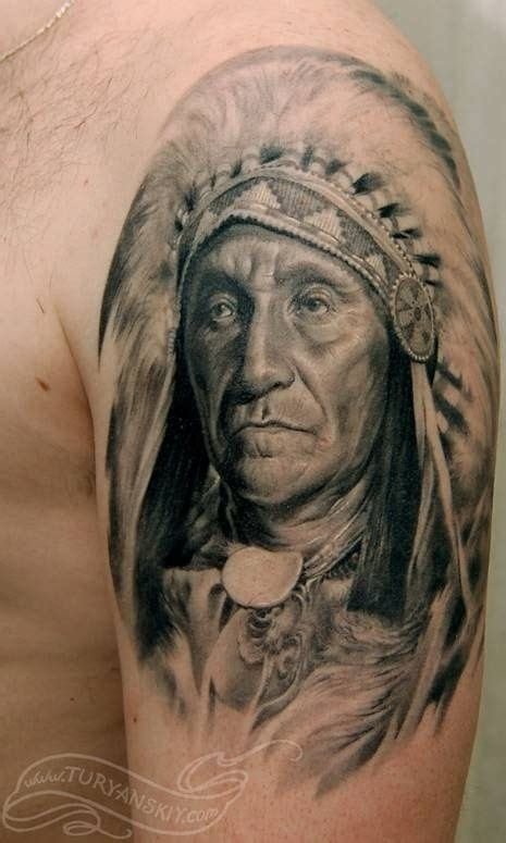 indian chief tattoo 15 best images about portrait tattoos on on