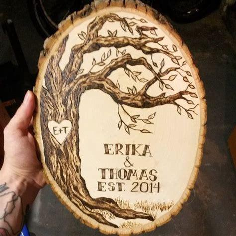 order custom pyrography wood