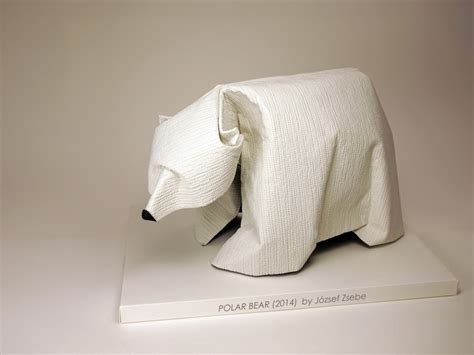 Origami Polar Folding - 20 awesome origami arctic animals