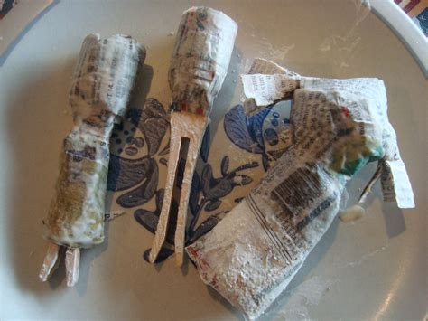 doll papier mache paper mache doll tutorial