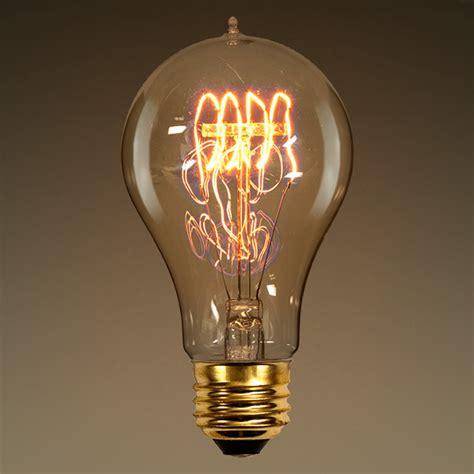 60 watt vintage light bulb 4 18 in length victorian