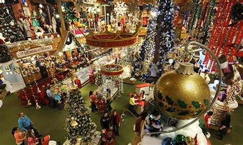 the world s biggest christmas shop bronner s michigan