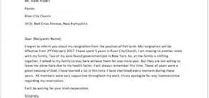 Resignation Letter From A Position by Resignation Letter Because Of Health Reasons Writeletter2