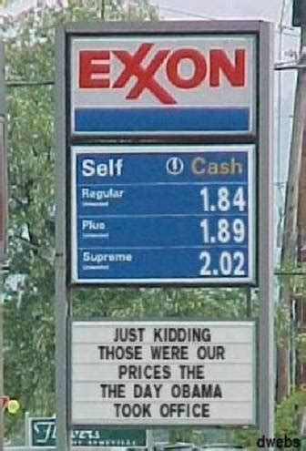 Gas Prices When Obama Took Office obama gas prices when he took office scary