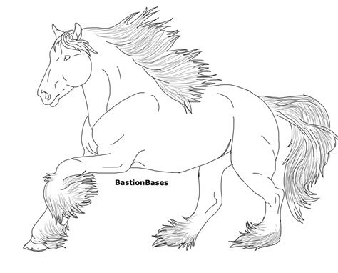 coloring pages of clydesdale horses budweiser clydesdales coloring pages coloring pages