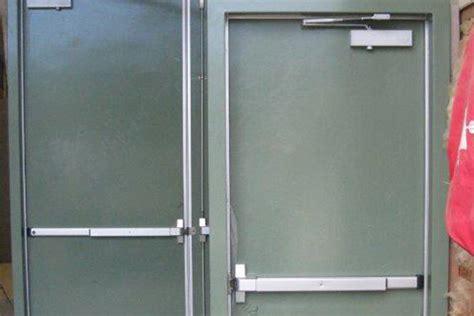 Steel Clad Exterior Doors Metalshielde Metal Clad Doors