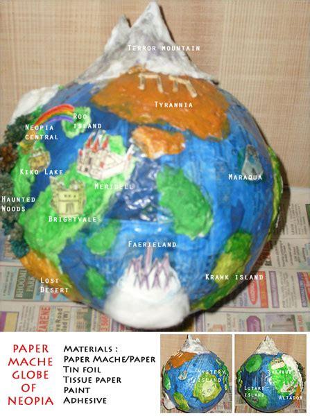 How To Make A Paper Mache Globe - random contest winners