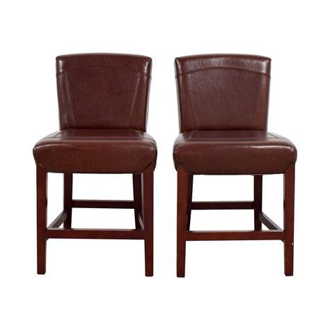 Ikea Black Leather Stool by 71 Ikea Ikea Black Faux Leather Bar Stools Chairs