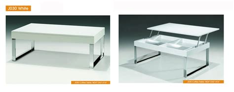 White Coffee And End Tables J030 White Coffee Table Coffee And End Tables Living Room Furniture